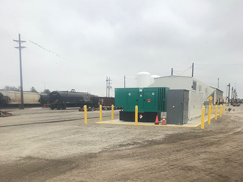 Air System Construction for Industrial and Railroad Pumping Stations by Coleman Industrial Construction based in Kansas City Missouri