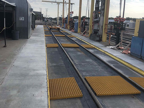 Fuel Support Systems for railroads in Newton KANSAS done by Coleman Industrial Construction based in Kansas City Missouri