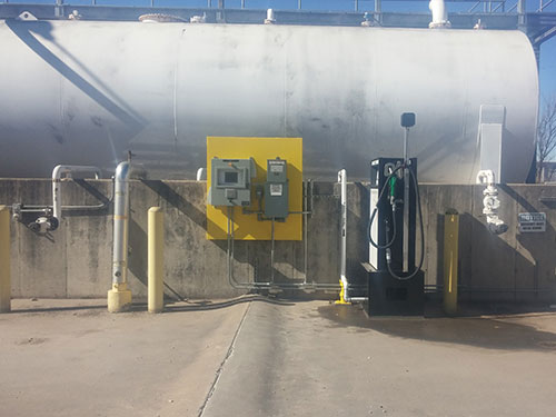 Fuel Support Systems for railroads in Tulsa OKLAHOMA done by Coleman Industrial Construction based in Kansas City Missouri