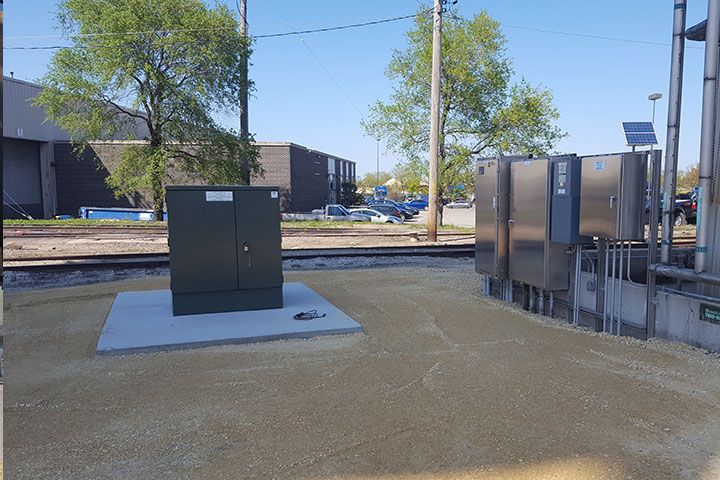 UPRR  WWTP Improvements by Coleman Industrial Construction in Kansas City Missouri