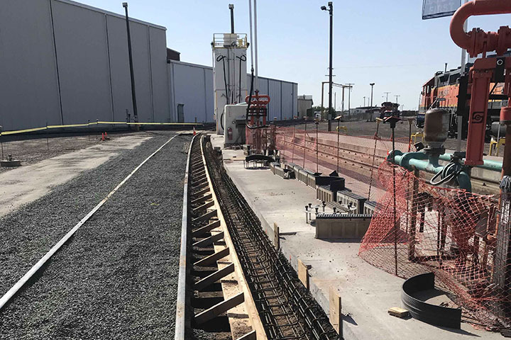 BSNF Fueling Platform Upgrades by Coleman Industrial Construction in Kansas City Missouri
