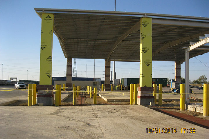 Union Pacific Railroad Roadability Canopy by Coleman Industrial Construction in Kansas City Missouri
