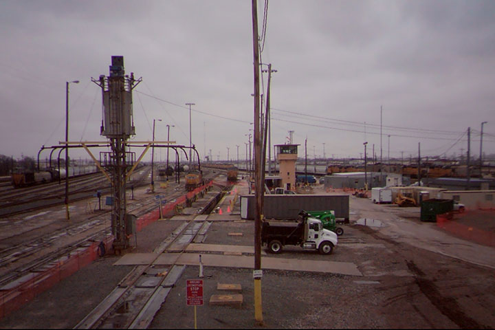 Union Pacific Railroad Inspection Pit by Coleman Industrial Construction in Kansas City Missouri